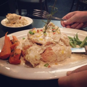Chicken and Biscuits at Hash House a Go Go, Las Vegas