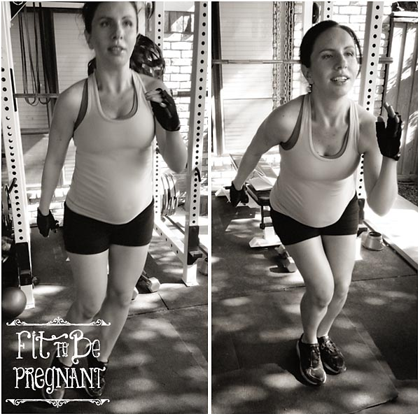 Weekly HIIT Workout For Pregnancy #2 Lateral Hops | Fit To Be Pregnant