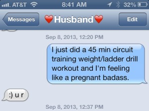 text message to husband